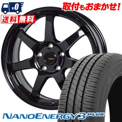 215/40R18 85W TOYO TIRES トーヨー タイヤ NANOENERGY3 PLUS ナノエナジー3 プラス G.speed G-03 Gスピード G-03 サマータイヤホイール4本セット