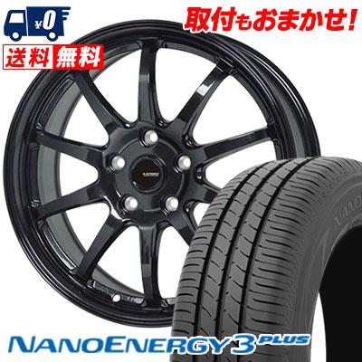 195/60R16 89H TOYO TIRES トーヨー タイヤ NANOENERGY3 PLUS ナノエナジー3 プラス G.speed G-04 Gスピード G-04 サマータイヤホイール4本セット