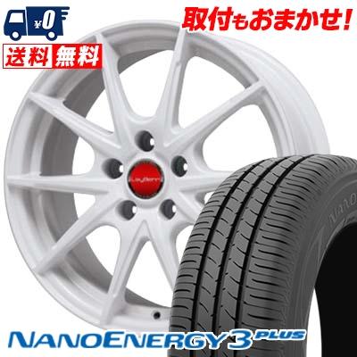 215/45R17 TOYO TIRES トーヨー タイヤ NANOENERGY3 PLUS ナノエナジー3 プラス LeyBahn WGS レイバーン WGS サマータイヤホイール4本セット