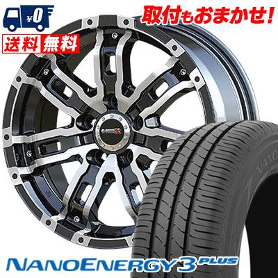 215/60R16 95H TOYO TIRES トーヨー タイヤ NANOENERGY3 PLUS ナノエナジー3 プラス B-MUD Z Bマッド ゼット サマータイヤホイール4本セット