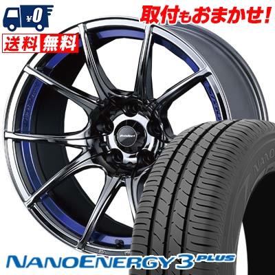215/35R18 84W XL TOYO TIRES トーヨー タイヤ NANOENERGY3 PLUS ナノエナジー3 プラス wedsSport SA-10R ウエッズスポーツ SA10R サマータイヤホイール4本セット