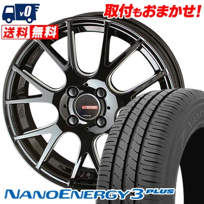 205/40R17 80W TOYO TIRES トーヨー タイヤ NANOENERGY3 PLUS ナノエナジー3 プラス CIRCLAR RM-7 サーキュラー RM-7 サマータイヤホイール4本セット