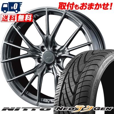 215/40R18 89W NITTO ニットー NEO GEN ネオゲン WEDS F ZERO FZ-1 ウェッズ エフゼロ FZ-1 サマータイヤホイール4本セット
