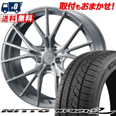 255/45R20 105W XL NITTO ニットー NT421Q NT421Q WEDS F ZERO FZ-1 ウェッズ エフゼロ FZ-1 サマータイヤホイール4本セット