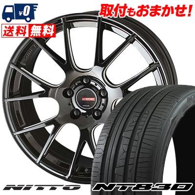 215/50R17 95W NITTO ニットー NT830 NT830 CIRCLAR RM-7 サーキュラー RM-7 サマータイヤホイール4本セット