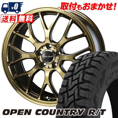 225/55R18 98Q TOYO TIRES トーヨー タイヤ OPEN COUNTRY R/T オープンカントリー R/T Eouro Sport Type 805 ユーロスポーツ タイプ805 サマータイヤホイール4本セット