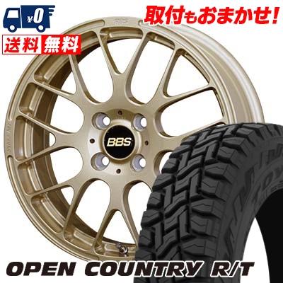165/60R15 77Q TOYO TIRES トーヨー タイヤ OPEN COUNTRY R/T オープンカントリー R/T BBS RP BBS RP サマータイヤホイール4本セット
