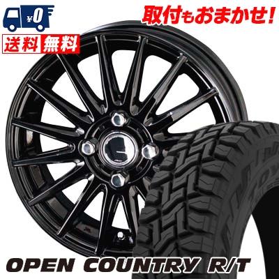 145/80R12 80/78N TOYO TIRES トーヨー タイヤ OPEN COUNTRY R/T オープンカントリー R/T CIRCLAR VERSION DF サーキュラー バージョン DF サマータイヤホイール4本セット