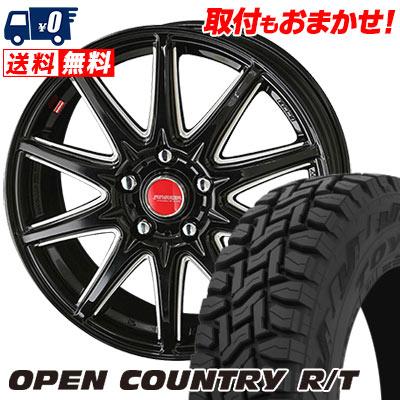 215/70R16 100Q TOYO TIRES トーヨー タイヤ OPEN COUNTRY R/T オープンカントリー R/T RIVAZZA CORSE リヴァッツァ コルセ サマータイヤホイール4本セット