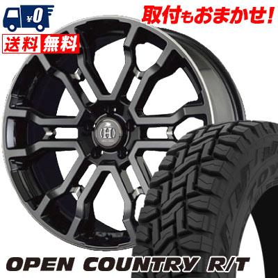 225/55R18 98Q TOYO TIRES トーヨー タイヤ OPEN COUNTRY R/T オープンカントリー R/T RAYS FULL CROSS CROSS SLEEKERS T6 レイズ フルクロス クロススリーカーズ T6 サマータイヤホイール4本セット
