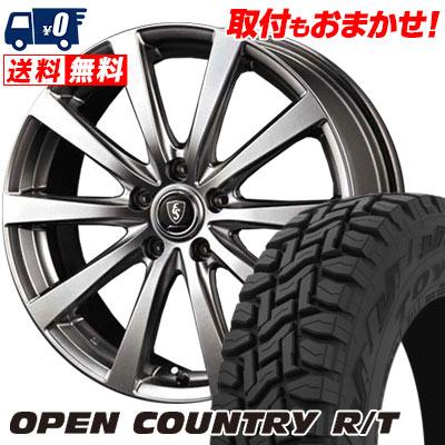 225/65R17 102Q TOYO TIRES トーヨー タイヤ OPEN COUNTRY R/T オープンカントリー R/T Euro Speed G10 ユーロスピード G10 サマータイヤホイール4本セット
