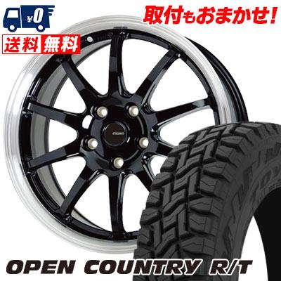 215/70R16 100Q TOYO TIRES トーヨー タイヤ OPEN COUNTRY R/T オープンカントリー R/T G.speed P-04 ジースピード P-04 サマータイヤホイール4本セット