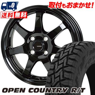 165/60R15 77Q TOYO TIRES トーヨー タイヤ OPEN COUNTRY R/T オープンカントリー R/T G.speed G-03 Gスピード G-03 サマータイヤホイール4本セット