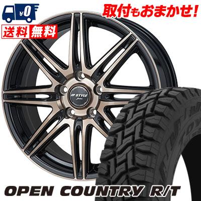 225/55R18 98Q TOYO TIRES トーヨー タイヤ OPEN COUNTRY R/T オープンカントリー R/T JP STYLE JERIVA JPスタイル ジェリバ サマータイヤホイール4本セット
