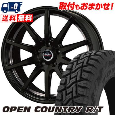 225/55R18 98Q TOYO TIRES トーヨー タイヤ OPEN COUNTRY R/T オープンカントリー R/T Euro Speed MX-01 ユーロスピード MX-01 サマータイヤホイール4本セット