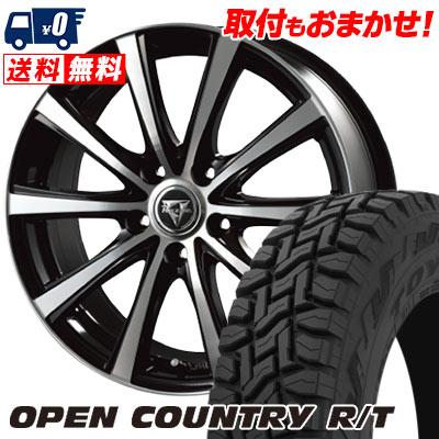 225/65R17 102Q TOYO TIRES トーヨー タイヤ OPEN COUNTRY R/T オープンカントリー R/T Razee XV レイジー XV サマータイヤホイール4本セット