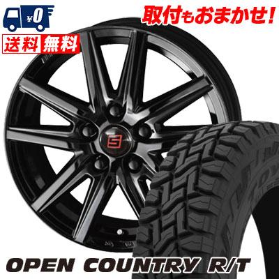 225/65R17 102Q TOYO TIRES トーヨー タイヤ OPEN COUNTRY R/T オープンカントリー R/T SEIN SS BLACK EDITION ザイン エスエス ブラックエディション サマータイヤホイール4本セット