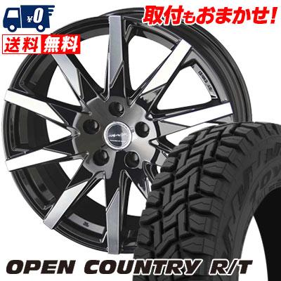 215/70R16 100Q TOYO TIRES トーヨー タイヤ OPEN COUNTRY R/T オープンカントリー R/T SMACK SFIDA スマック スフィーダ サマータイヤホイール4本セット