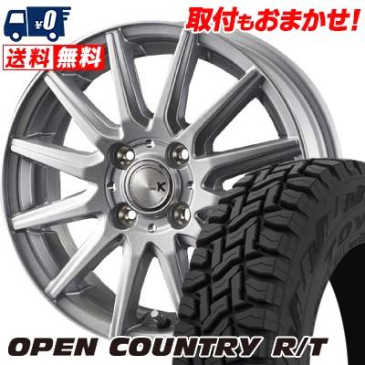 145/80R12 80/78N TOYO TIRES トーヨー タイヤ OPEN COUNTRY R/T オープンカントリー R/T spec K スペックK サマータイヤホイール4本セット