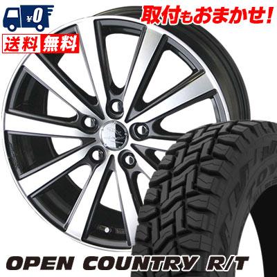 225/60R17 99Q TOYO TIRES トーヨー タイヤ OPEN COUNTRY R/T オープンカントリー R/T SMACK VIR スマック VI-R サマータイヤホイール4本セット