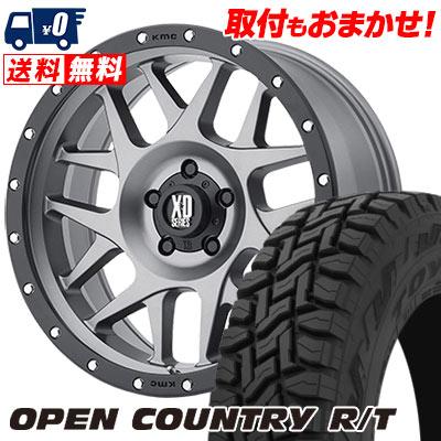 215/70R16 100Q TOYO TIRES トーヨー タイヤ OPEN COUNTRY R/T オープンカントリー R/T KMC XD127 BULLY KMC XD127 ブリー サマータイヤホイール4本セット