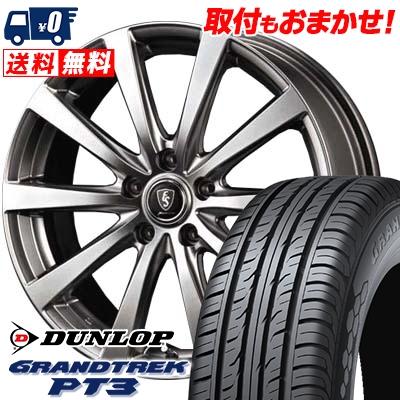205/70R15 96H DUNLOP ダンロップ GRANDTREK PT3 グラントレック PT3 Euro Speed G10 ユーロスピード G10 サマータイヤホイール4本セット