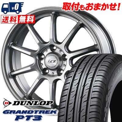 215/65R16 98H DUNLOP ダンロップ GRANDTREK PT3 グラントレック PT3 LCZ010 LCZ010 サマータイヤホイール4本セット
