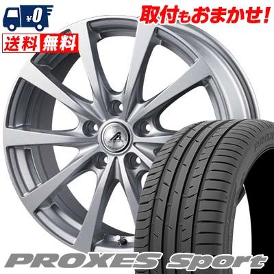 215/45R17 91W XL TOYO TIRES トーヨー タイヤ PROXES sport プロクセス スポーツ AZ SPORTS EX10 AZスポーツ EX10 サマータイヤホイール4本セット