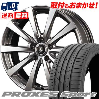 215/45R17 91W XL TOYO TIRES トーヨー タイヤ PROXES sport プロクセス スポーツ Euro Speed G10 ユーロスピード G10 サマータイヤホイール4本セット