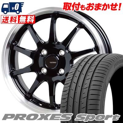 205/45R17 88Y XL TOYO TIRES トーヨー タイヤ PROXES sport プロクセス スポーツ G.speed P-04 ジースピード P-04 サマータイヤホイール4本セット