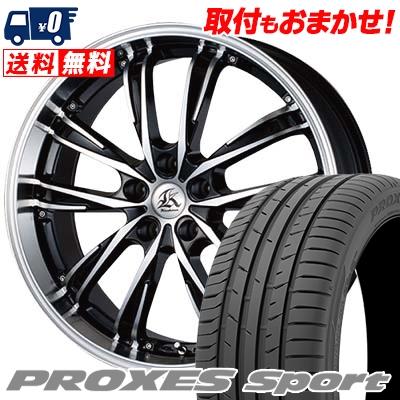 225/50R17 98Y XL TOYO TIRES トーヨー タイヤ PROXES sport プロクセス スポーツ Kashina XV5 カシーナ XV5 サマータイヤホイール4本セット