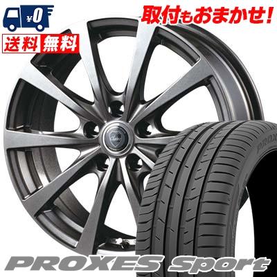 235/45R17 97Y XL TOYO TIRES トーヨー タイヤ PROXES sport プロクセス スポーツ CLAIRE RG10 クレール RG10 サマータイヤホイール4本セット