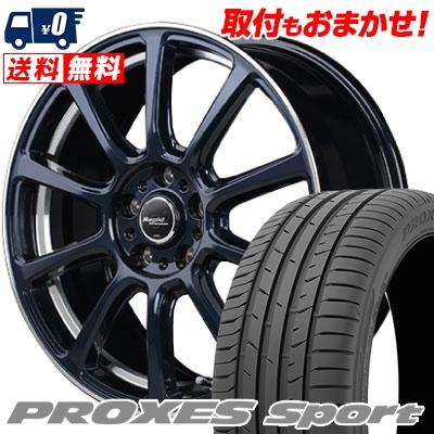 245/45R18 100Y XL TOYO TIRES トーヨー タイヤ PROXES sport プロクセス スポーツ Rapid Performance ZX10 ラピッド パフォーマンス ZX10 サマータイヤホイール4本セット