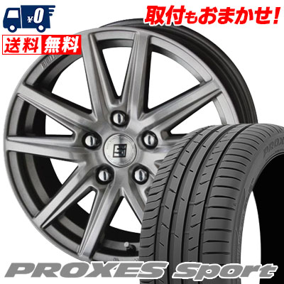 215/45R18 93Y XL TOYO TIRES トーヨー タイヤ PROXES sport プロクセス スポーツ SEIN SS ザイン エスエス サマータイヤホイール4本セット