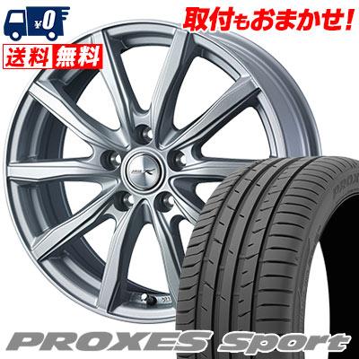 215/50R17 95W XL TOYO TIRES トーヨー タイヤ PROXES sport プロクセス スポーツ JOKER SHAKE ジョーカー シェイク サマータイヤホイール4本セット