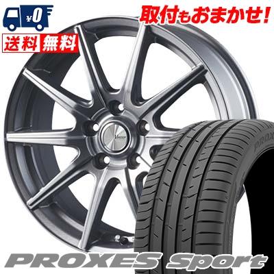 205/50R17 93Y XL TOYO TIRES トーヨー タイヤ PROXES sport プロクセス スポーツ V-EMOTION SR10 Vエモーション SR10 サマータイヤホイール4本セット