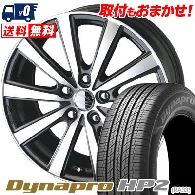 215/70R16 HANKOOK ハンコック Dynapro HP2 RA33 ダイナプロ HP2 SMACK VIR スマック VI-R サマータイヤホイール4本セット