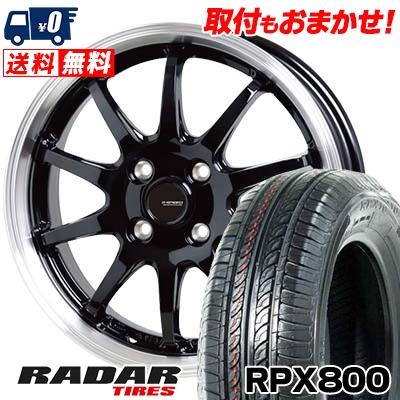 195/45R17 85W 85W XL RADAR G.speed レーダー RPX800 アールピーエックス ハッピャク P-04 G.speed P-04 ジースピード P-04 サマータイヤホイール4本セット, ウトシ:fe5a64fb --- chrb2.ru