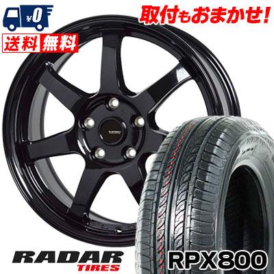 205/55R16 94W XL RADAR レーダー RPX800 アールピーエックス ハッピャク G.speed G-03 Gスピード G-03 サマータイヤホイール4本セット