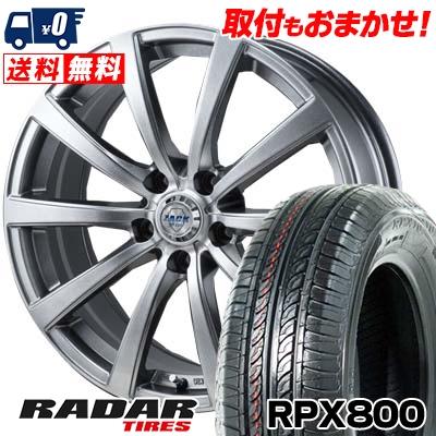 205/55R16 94W XL RADAR レーダー RPX800 アールピーエックス ハッピャク ZACK JP-110 ザック JP110 サマータイヤホイール4本セット