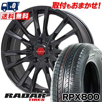 215/70R15 98T RADAR レーダー RPX800 アールピーエックス ハッピャク LeyBahn GBX レイバーン GBX サマータイヤホイール4本セット