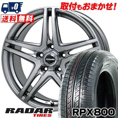 205/55R16 94W XL RADAR レーダー RPX800 アールピーエックス ハッピャク WAREN W04 ヴァーレン W04 サマータイヤホイール4本セット