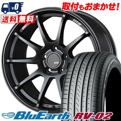 225/45R18YOKOHAMAヨコハマBLUEEARTHRV02ブルーアースRV02SSRGTV02SSRGTV02サマータイヤホイール4本セット