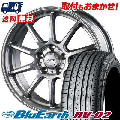 205/65R15 94H YOKOHAMA ヨコハマ BLUE EARTH RV02 ブルーアース RV-02 LCZ010 LCZ010 サマータイヤホイール4本セット
