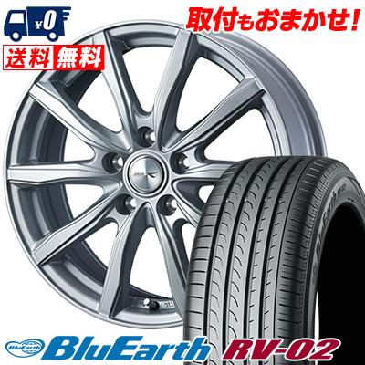 シェイク EARTH ブルーアース YOKOHAMA JOKER RV-02 205/65R15 94H SHAKE BLUE ジョーカー RV02 ヨコハマ サマータイヤホイール4本セット【取付対象】
