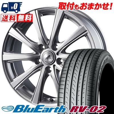 225/65R17 106V XL YOKOHAMA ヨコハマ BLUE EARTH RV02 ブルーアース RV-02 AZ sports YL-10 AZスポーツ YL-10 サマータイヤホイール4本セット