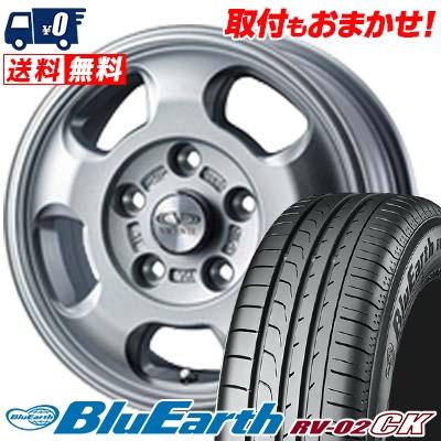 185/65R15 88H YOKOHAMA ヨコハマ BLUE EARTH RV02 CK ブルーアース RV-02 CK VICENTE-05 NV ヴィセンテ05 NV サマータイヤホイール4本セット
