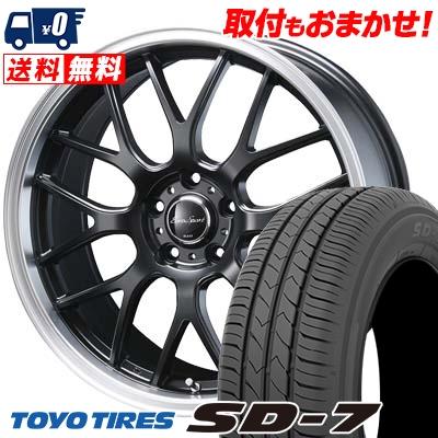 215/50R17 91V TOYO TIRES トーヨー タイヤ SD-7 エスディーセブン Eoro Sport Type 805 ユーロスポーツ タイプ805 サマータイヤホイール4本セット