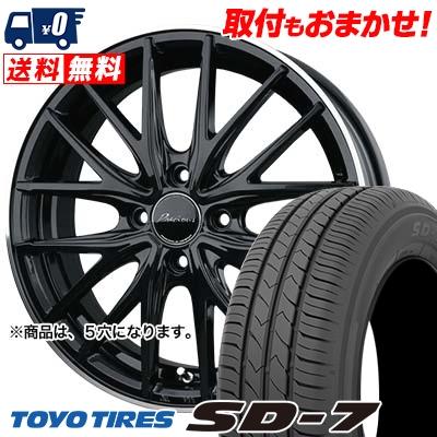 215/55R17 94V TOYO TIRES トーヨー タイヤ SD-7 エスディーセブン Precious AST M1 プレシャス アスト M1 サマータイヤホイール4本セット