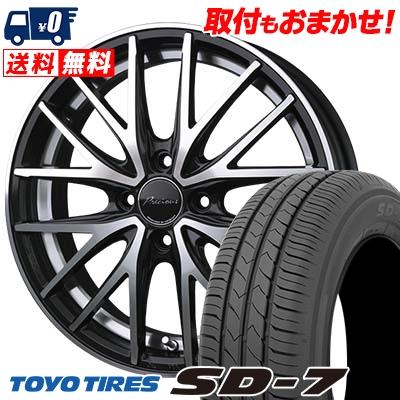 175/60R16 82H TOYO TIRES トーヨー タイヤ SD-7 エスディーセブン Precious AST M1 プレシャス アスト M1 サマータイヤホイール4本セット